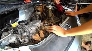 Dementage Moteur Clio 1 4 Essence - محرك كليو بنزين 1.4