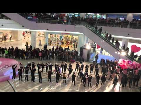 [컬처앤유] (구 댄스팩토리) 50명 플래시몹 타임스퀘어 2016.02