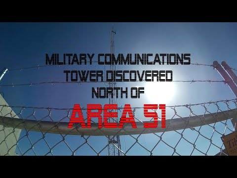 Found A Military Communications Tower Near Rachel and Area 51