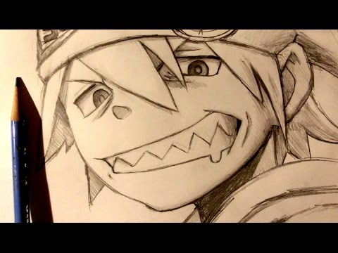ASMR   Pencil Drawing 10   Soul Eater(Request)