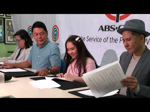Ianna Dela Torre Rayt Carreon & MayWard  Contract Signing