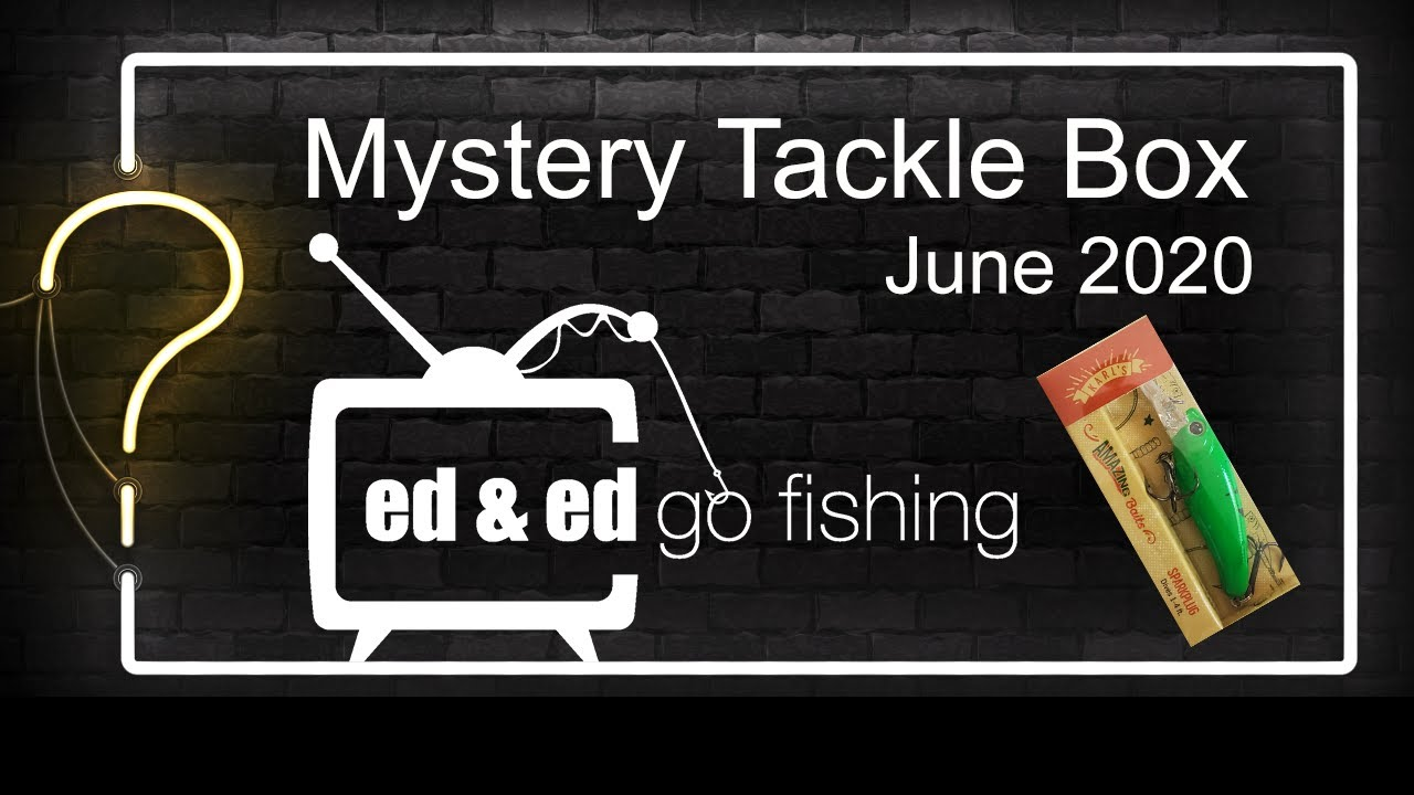 Mystery Tackle Box Unboxing June 2020 - Fishing Reel Giveaway