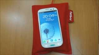 Fatboy Nokia QI Wireless Charging Pillow Review - Nexus 4 & Galaxy S3