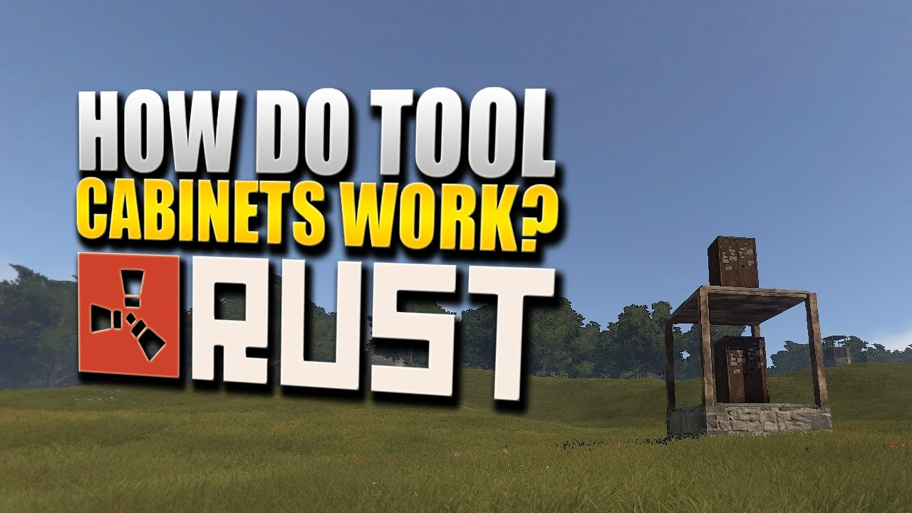Rust For Dummies - How Do Tool Cabinets Work Now - YouTube