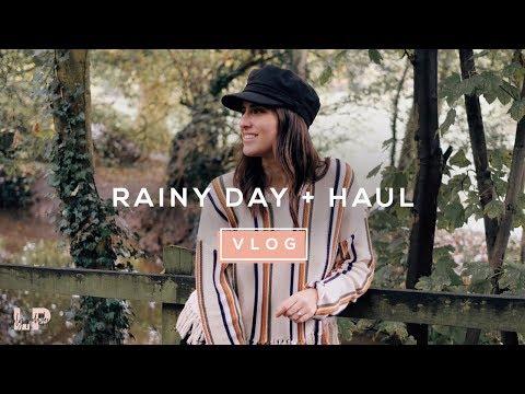 RAINY DAY VLOG & HAUL | Lily Pebbles