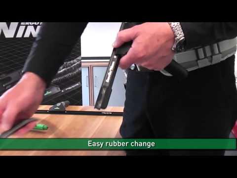 Комплект Unger Ниндзя. Как пользоваться сгоном и шубкой.