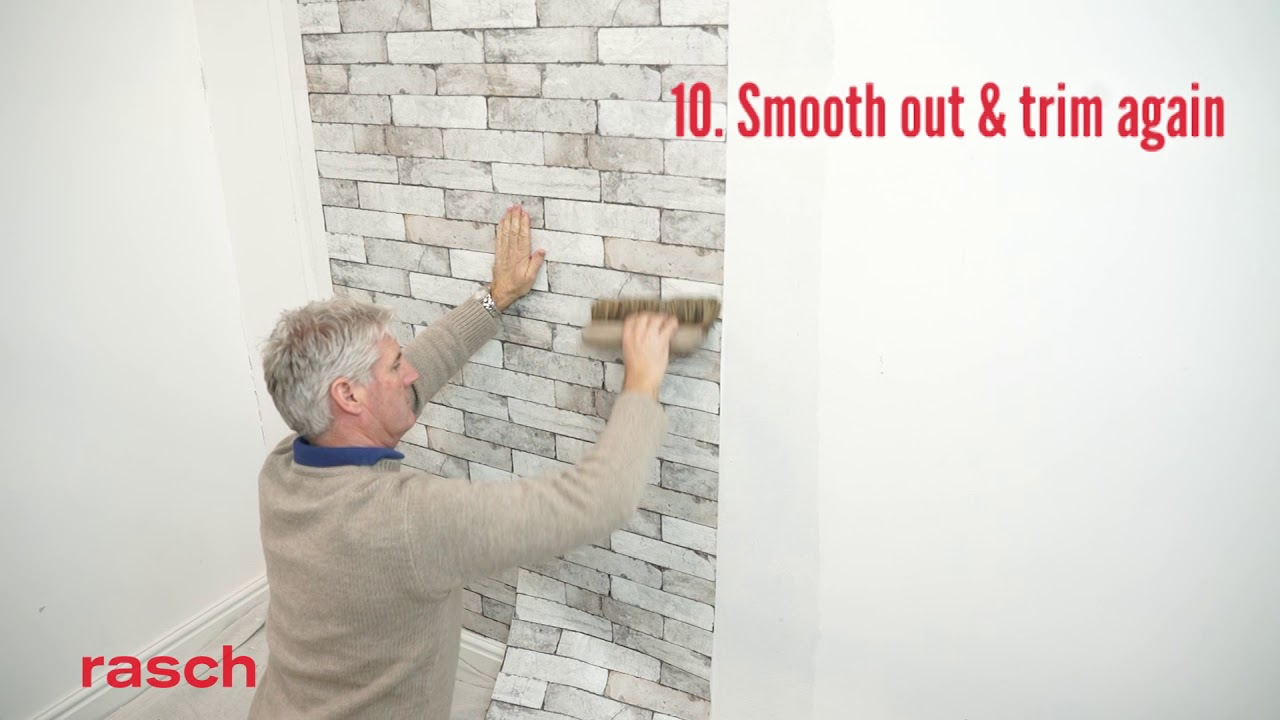 Rasch Uk How To Hang Paste The Wall Wallpaper Youtube