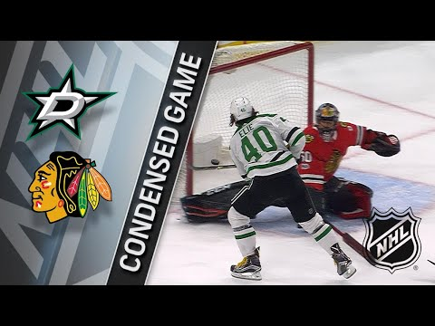 11/30/17 Condensed Game: Stars @ Blackhawks