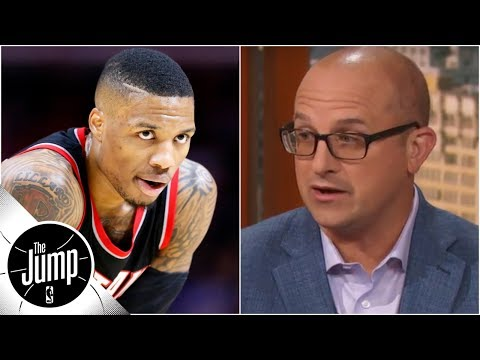 Why Damian Lillard will be 'the ultimate test' of the NBA supermax | The Jump | ESPN