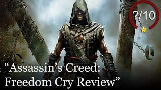 Assassin's Creed: Freedom Cry Review (Video Game Video Review)