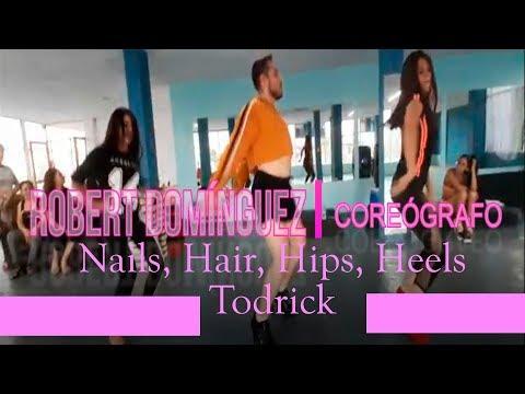 "Todrick Hall -"" Nails, Hair, Hips, Heels"" | ROBERT DOMÍNGUEZ Choreography (Class heels)) thumbnail"