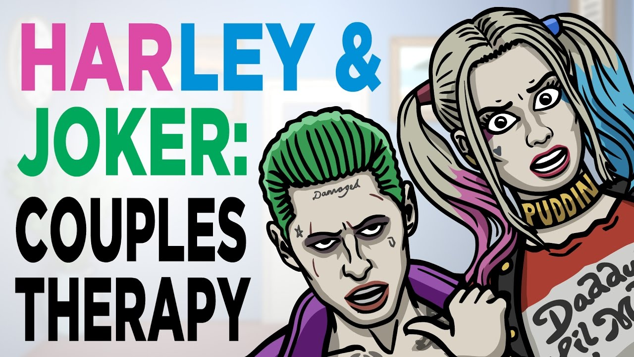 Joker Harley Couples Therapy Suicide Squad Toon Sandwich