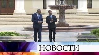 Вопросам интеграции в рамках Союзного государства были посвящены переговоры премьеров РФ и Белорусии