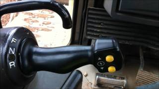 Cat D8 T bulldozer in cab and walk around
