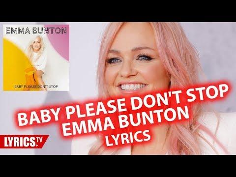 Baby please don't stop LYRICS | Emma Bunton | lyric & songtext | from the album My Happy Place Mp3