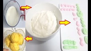 Milk say Whipping Cream banain | how to make whip. cream from milk by Easy Cooking With Shazia