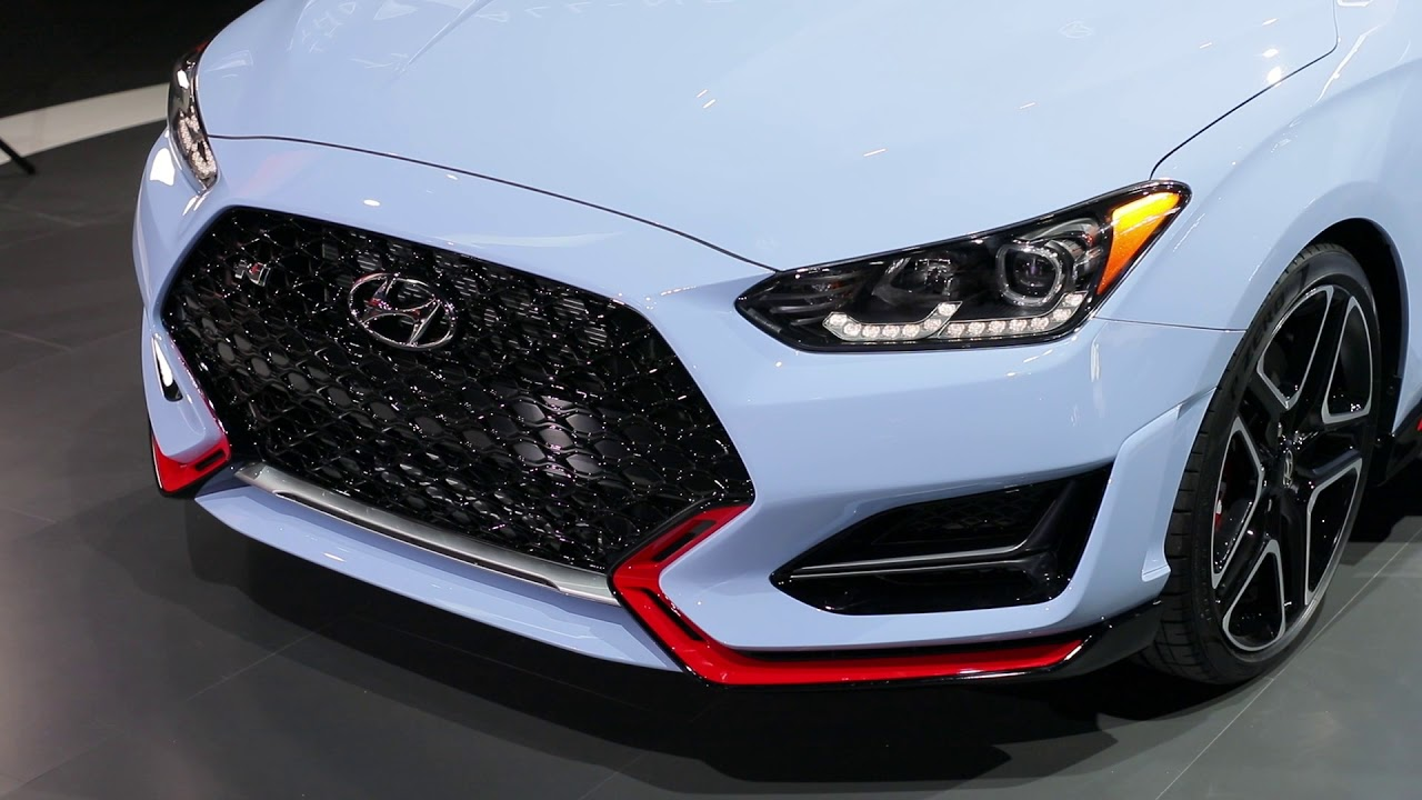 2019 Hyundai Veloster gets new look, lots more tech