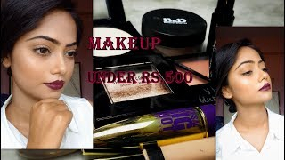 Makeup under rs.500||Affordable Price||Budget Friendly||