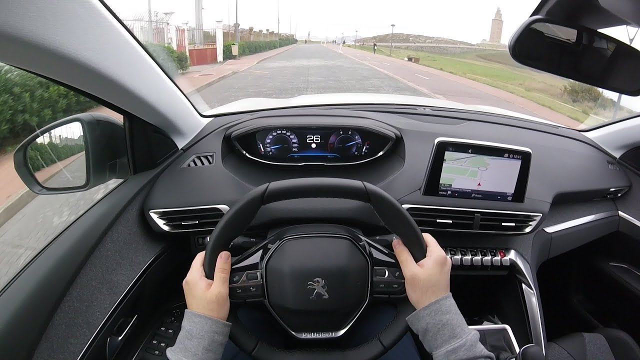 Peugeot 5008 Allure 1 5 Bluehdi 130 Pov Test Drive