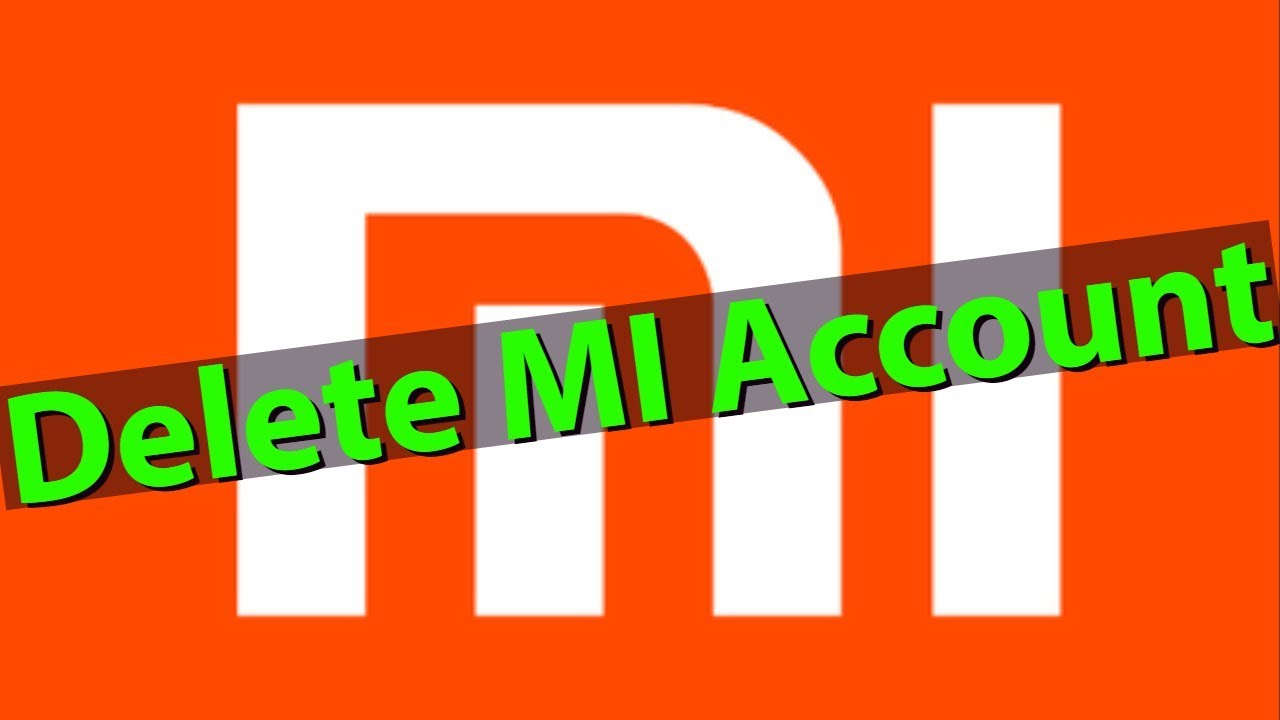 How To Delete/Remove Mi Account For All Xiaomi Redmi Mobile In Permanently  Without Password