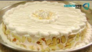 Receta De Pastel De Coco Con Flan De Limón Y Betún De 7 Minutos. Receta De Pasteles / Cakes Recipe