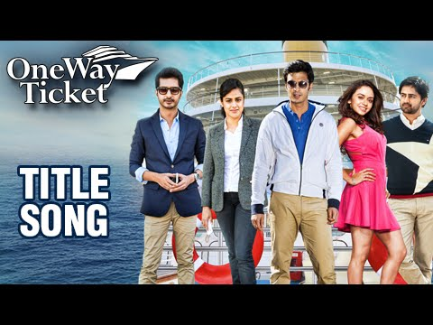 One Way Ticket | Title Song | Suspense Thriller Marathi Movie | Shashank, Amruta, Sachit, Neha