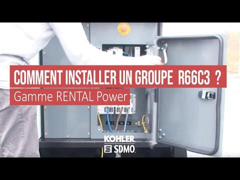 comment installer un groupe lectrog ne r66c3 youtube. Black Bedroom Furniture Sets. Home Design Ideas