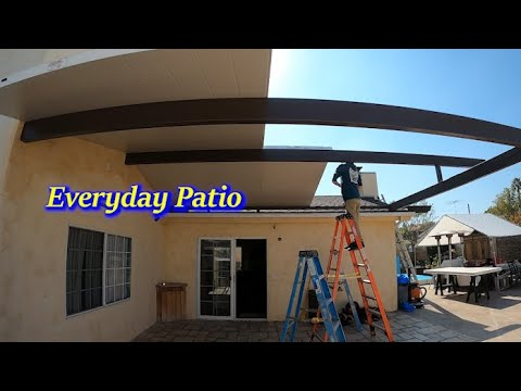 how to roof mount gable four seasons patio cover
