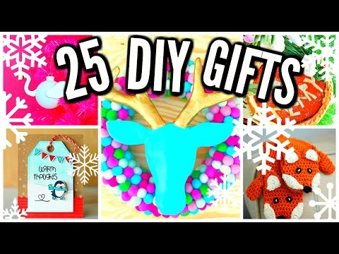 25 DIY Christmas Gift Ideas! Cheap & Easy!