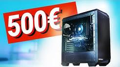 500€ Euro GAMING PC!! - Test & Zusammenbauen