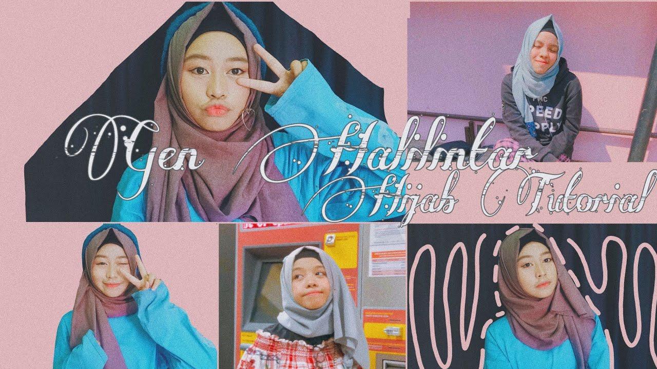 Hijab Tutorial Gen Halilintar Super Simple Sajidahhalilintar Fatimahhalilintar Genhalilintar Youtube