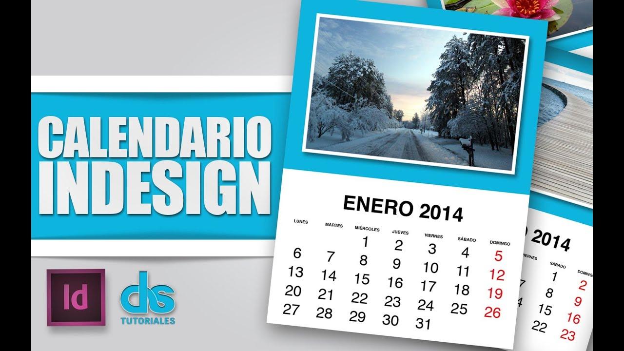 Calendario Indesign.Calendario Con Adobe Indesign