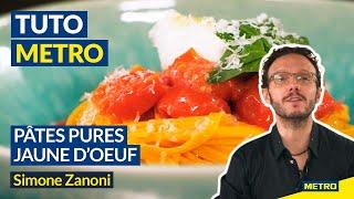 Pâtes pures jaunes dœufs avec Simone Zanoni