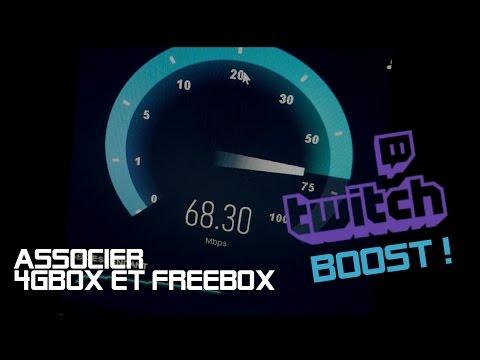 Brancher la 4GBOX sur la FREEBOX Revolution et augmenter son débit ! | TECH TUTO