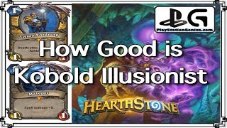 1 mana 1/1 Tirion & Malygos | How Good is Kobold Illusionist | Malygos Rogue KnC | PlayStationGenius