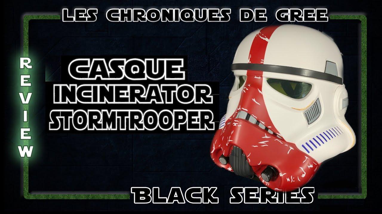 Download STAR WARS CASQUE INCINERATOR STORMTROOPER BLACK SERIES REVIEW UNBOXING HASBRO [FR]