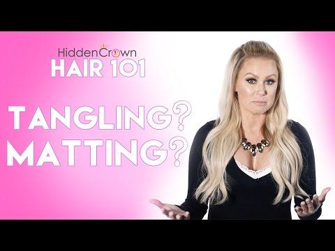 Hair 101- Matting & Tangling | Hidden Crown - YouTube