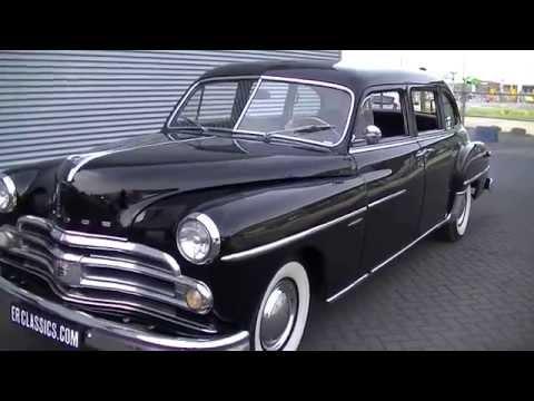 dodge coronet 1950 limousine very good condition-video- www erclassics com