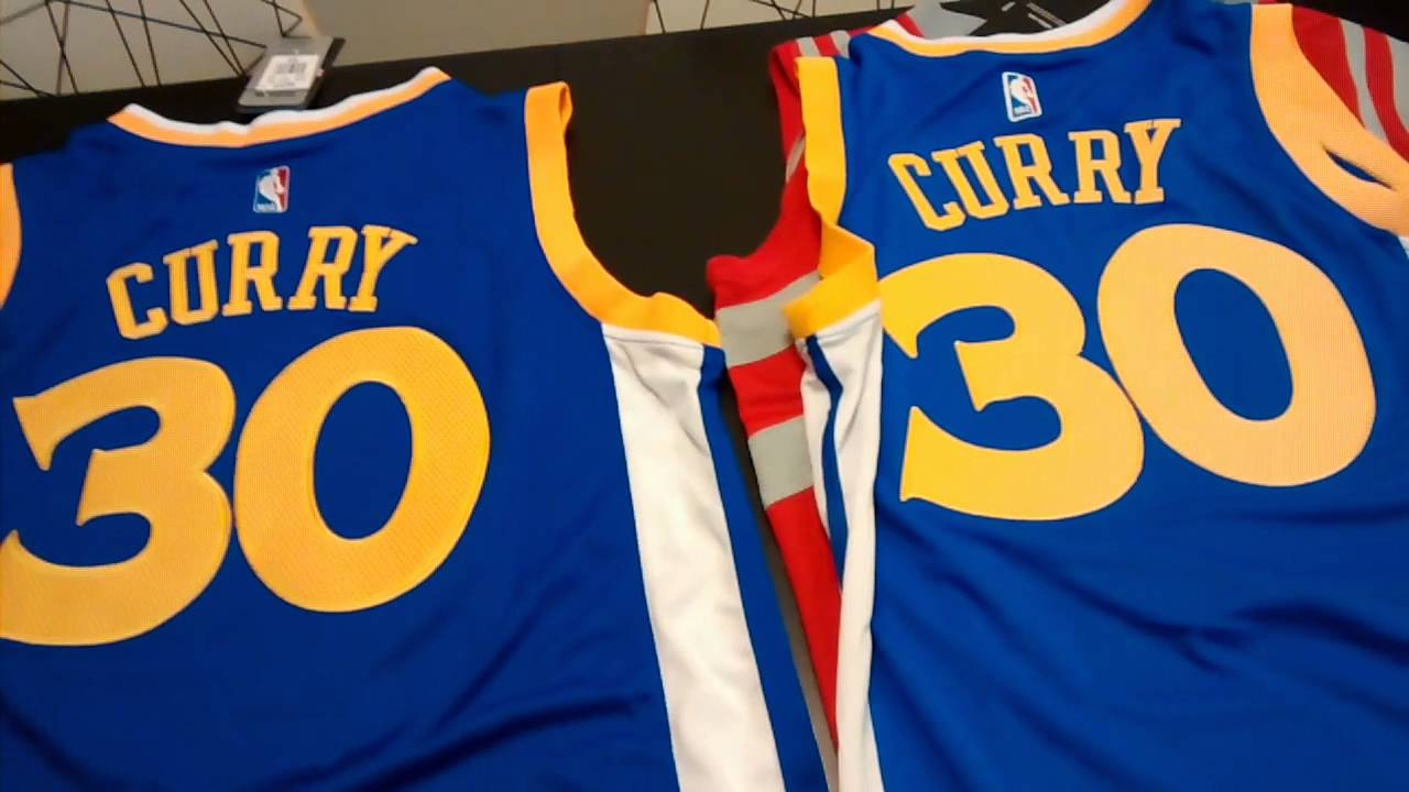 4db36ad57ee Fake NBA Jersey Review (Stephen Curry + James Harden) - YouTube