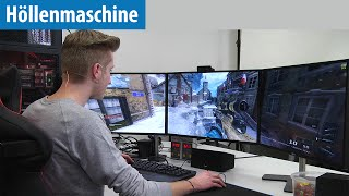 Höllenmaschine 7: Let's Play CoD Black Ops 3 in Ultra & 7K mit YouTuber AimBrot