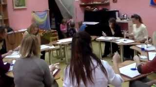 Вальдорфська школа, як проходять уроки в першому класі. Частина 2.