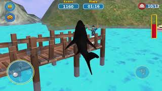 Game Android #1096 Shark Attack Wild Simulator Android Gameplay