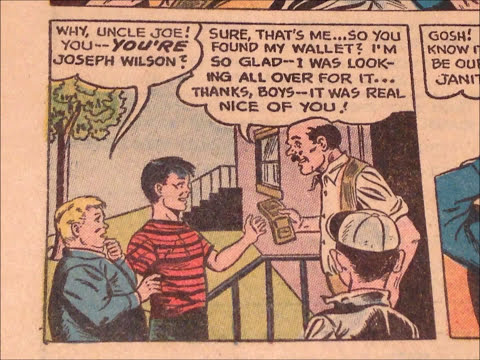 COMIC MAN PRODUCTIONS: HONESTY IS THE BEST POLICY COMIC BOOK 1964