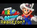 Inside Super Mario Odyssey - E3 Trailer Reaction!