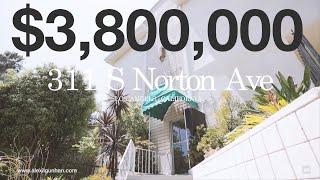 FOR SALE: 311 S Norton Ave,Los Angeles, CA