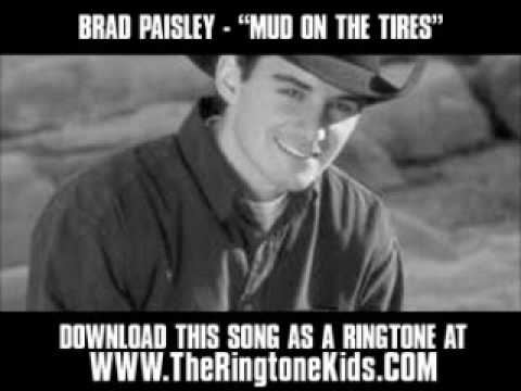 Brad Paisley  Mud On The Tires  New  + Lyrics + Download