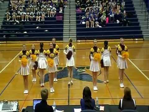 Bay City Western High School Varsity Pom Pon - Regionals 2013