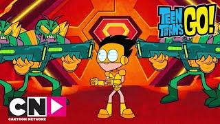 Młodzi Tytani: Akcja! | Kosmiczna bitwa | Cartoon Network