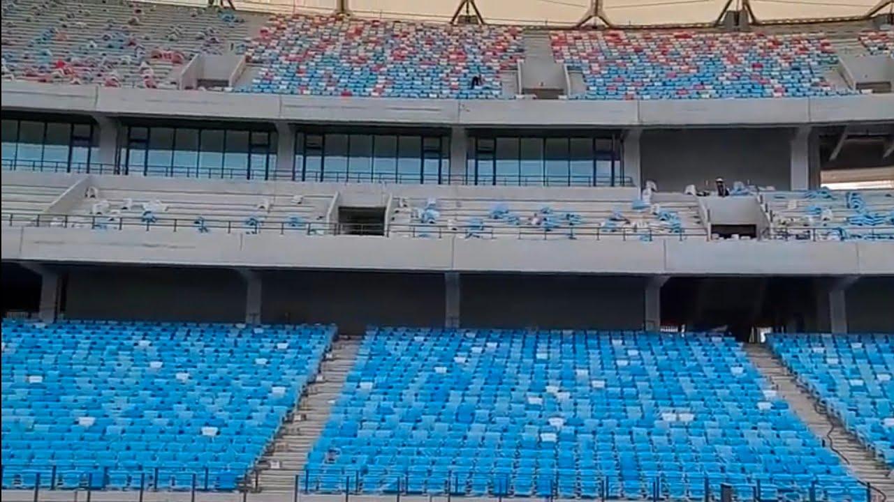 GRADASI SINGLE SEAT TERBAIK DI ASIA TENGGARA,UPDATE PEMBANGUNAN MORODOC TECHO STADIUM