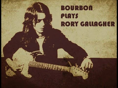 Tattoo lady - Bourbon plays Rory Gallagher special guest Conny Ochs